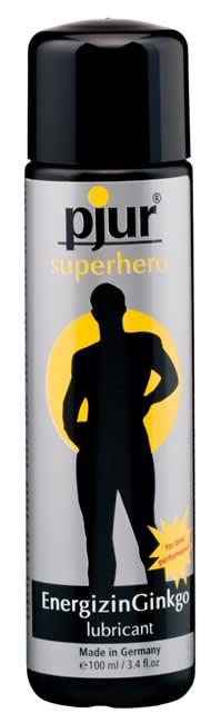 Image of 100 ml pjur Superhero glide - Vandbaseret glidecreme, specielt til ham