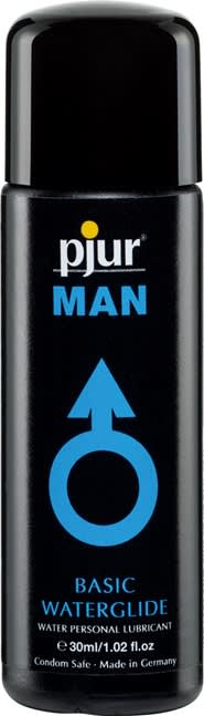 Image of   30 ml pjur MAN Basic water glide - Vandbaseret glidecreme