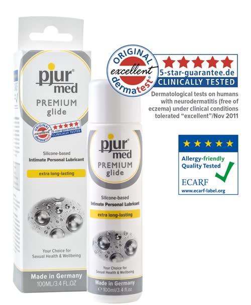 Image of 100 ml pjur MED Premium glide - Af de bedste ingredienser