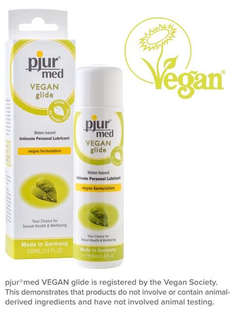 Image of 100 ml pjur MED Vegan glide - Vandbaseret glidecreme med vegan