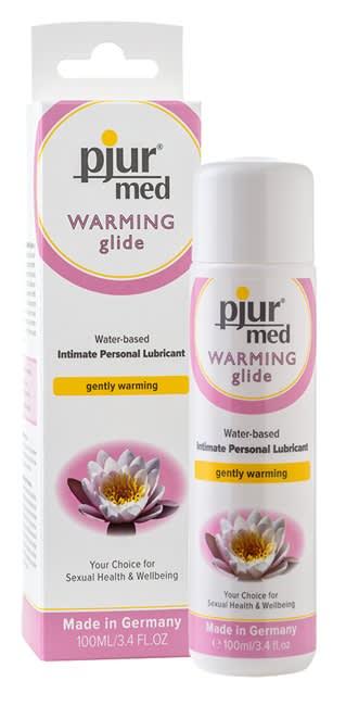 100 ml pjur MED Warming glide - Stimulerer og varmer (vandbaseret)