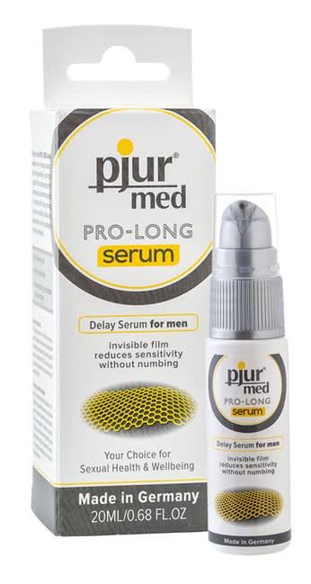 Image of 20 ml pjur MED Pro-long Serum - Længere nydelse - forsinker udløsning