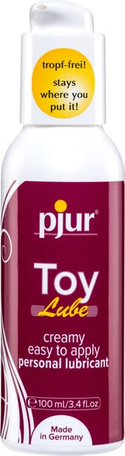 Image of   100 ml pjur Woman Toy Lube - DRYPFRI glidecreme til dit sexlegetøj