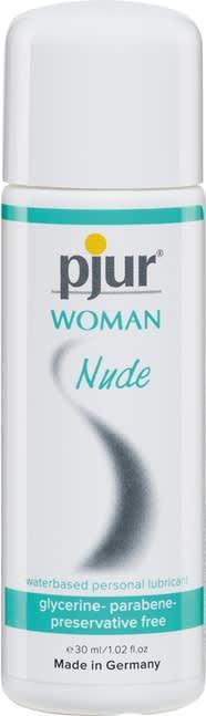 30 ml pjur Woman Nude - Specielt til kvinder med sart hud og tørhed