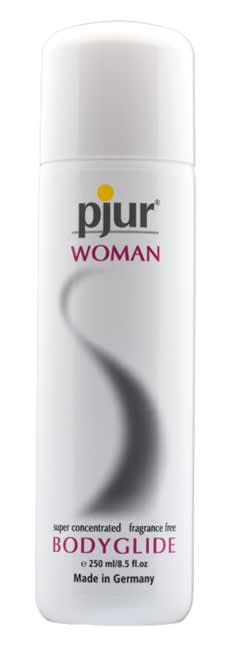 Image of   250 ml pjur Woman - Sensitiv massage- og glidecreme til kvinder