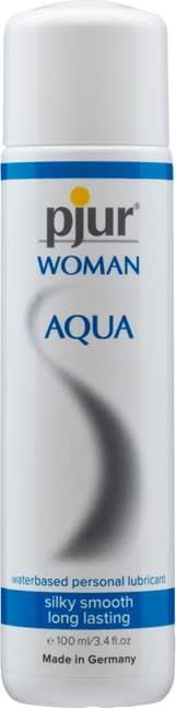 Image of 100 ml pjur Woman Aqua - Lækker vandbaseret glidecreme til kvinder