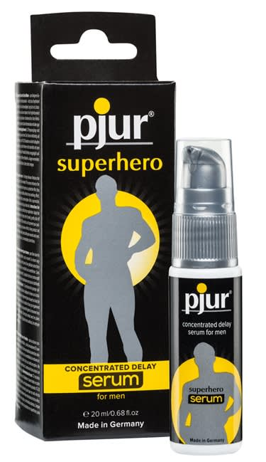 Image of   20 ml pjur Superhero Serum - Reducerer sensitiviteten - Hold længere