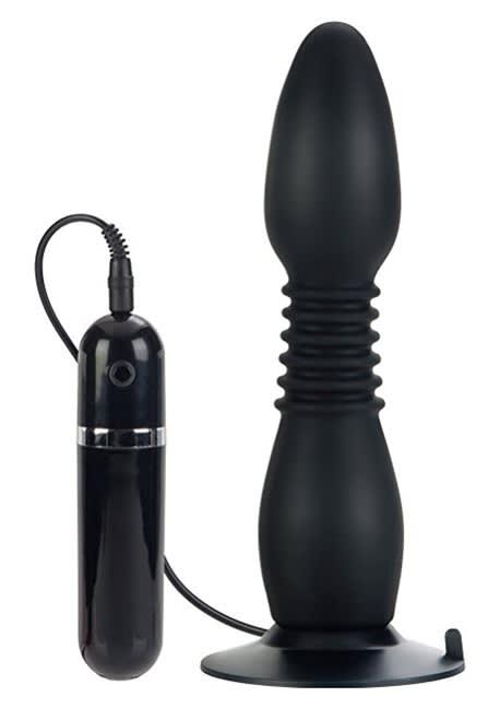 COLT ® Easy Flex Glider - Vibrerende butt plug - bevæger sig MED dig!