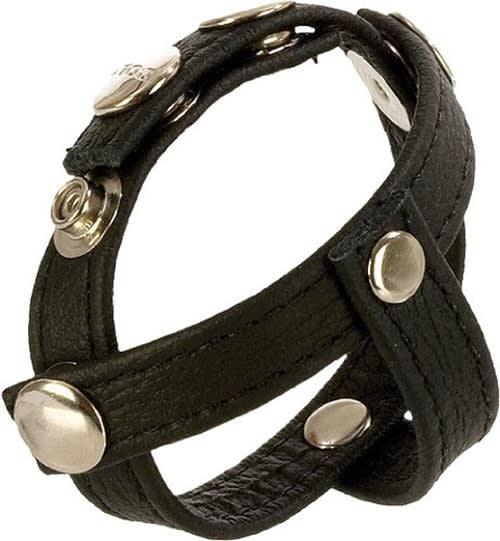 COLT® Leather H-Piece Divider Strap - Highend håndsyet læder - 23x2 cm