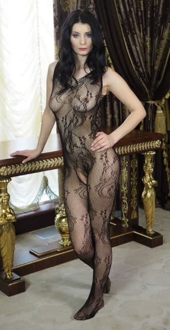 Master of Desire - Red - Bodystocking - bundløs