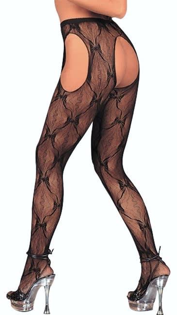 Cottelli Collection - Sex Tights - Super sexede strømpebukser