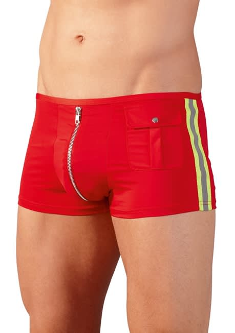 Svenjoyment - Firefighter Pants - Flotte røde brandmands-boxers