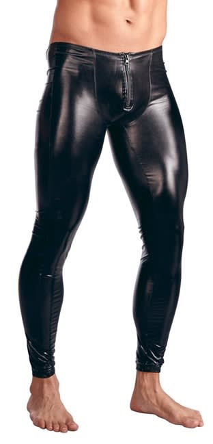 Svenjoyment - Men´s Leggings - Wetlook Leggins til mænd