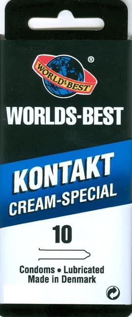 10 stk. LARGE - Kontakt Cream-Special - med creme