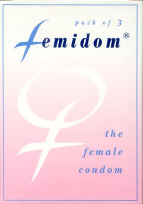 """3 stk. FEMIDOM - det kvindelige """"kondom"""""""