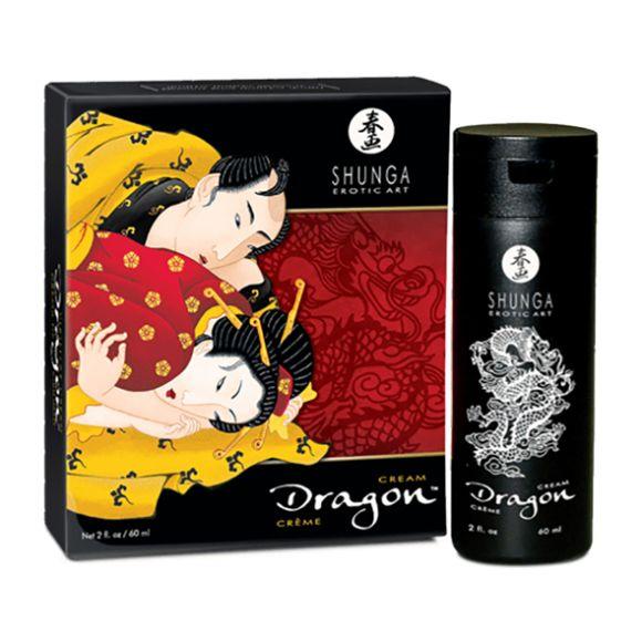 Shunga – Dragon – Stimuloiva ja viivästyttävä voide
