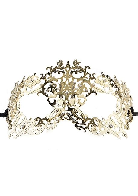 Ouch! - Skov-dronning Masquerade Mask  - Gold