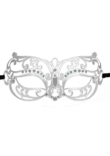 Ouch! - Stamme Masquerade Mask  - Silver