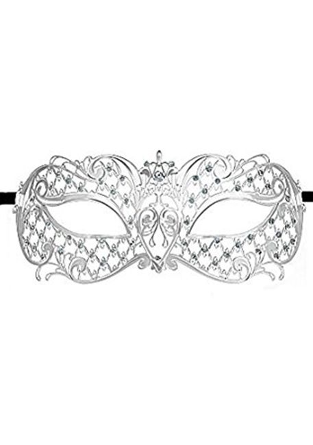 Image of   Ouch! - Angel Masquerade Mask - Silver