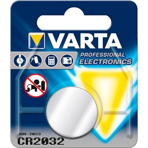 1 stk. VARTA Professional Lithium Knapcelle CR2032/3V
