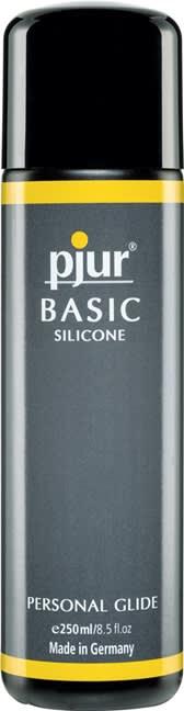250 ml pjur Basic Personal Glide - Silikone baseret glidecreme