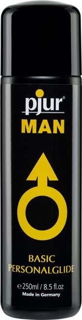 250 ml pjur MAN Basic glide - Fantastisk silikonebaseret glidecreme