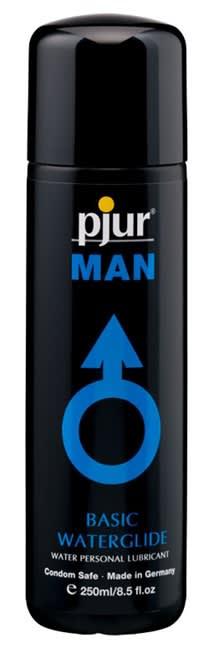250 ml pjur MAN Basic water glide - Vandbaseret glidecreme