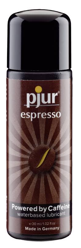 30 ml pjur Espresso - Med koffein, når du skal peppes lidt op