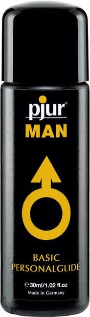 30 ml pjur MAN Basic glide - Fantastisk silikonebaseret glidecreme