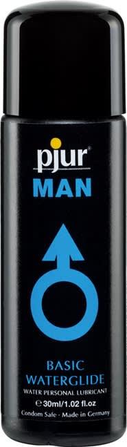 30 ml pjur MAN Basic water glide - Vandbaseret glidecreme