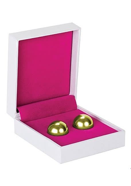 Ben Wa Balls - Erotiske treningskuler - Gull