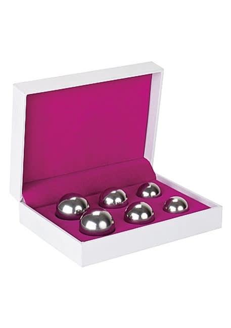 Ben Wa Balls Sett - Sølv