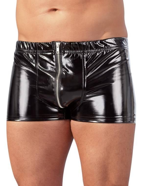 Black Level - Men's Vinyl Pants - Vinyl shorts