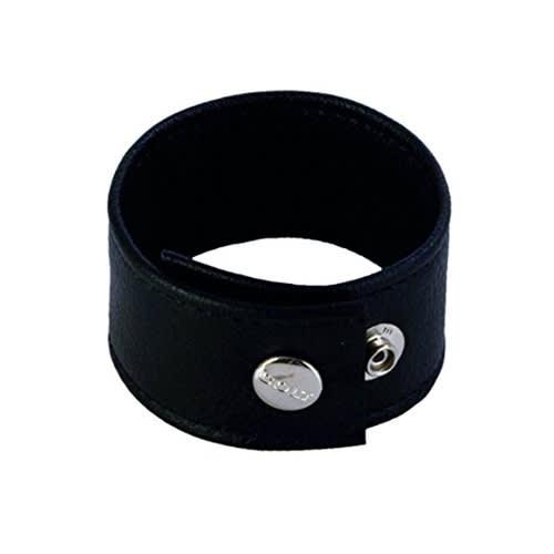 COLT® Double Wide Leather Strap – Korkealaatuista Nahkaa – Käsin Ommeltu – 23 x 4 cm