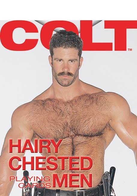 COLT® Hairy Chested Men Playing Cards - Spillekort - Lækre mænd