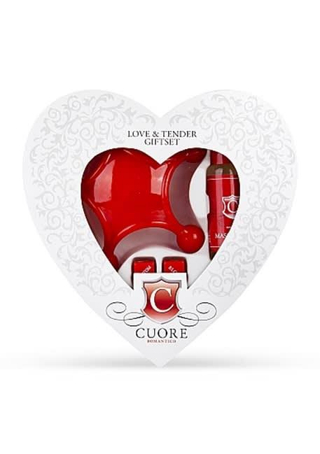 Cuore Love & Tender lahjapakkaus Cuore Romanticolta