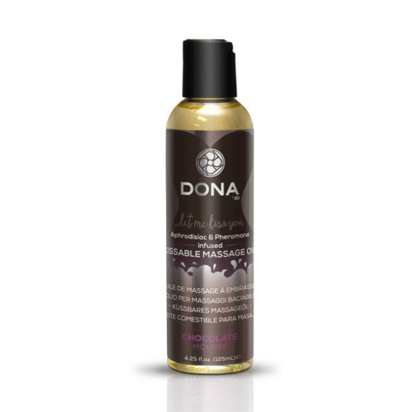 Dona - Spiselig Massageolie - Chocolate Mousse 110 ml