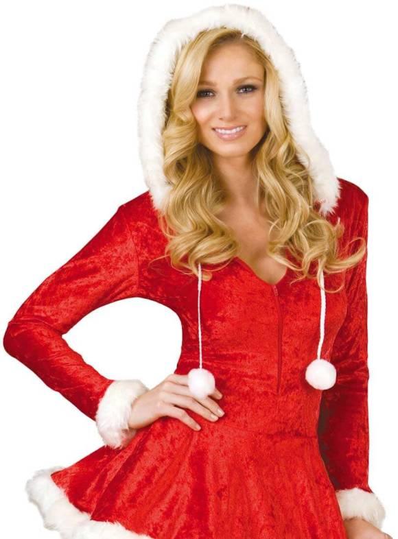Dreamgirl© - Sleigh Belle - Luksus julekostume til en fræk jul