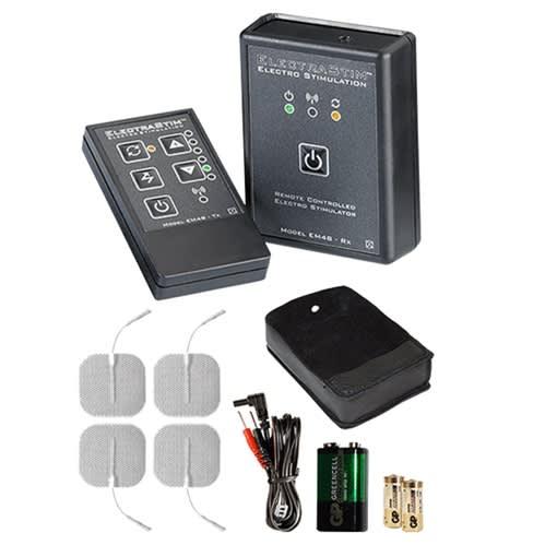 ElectraStim - Remote Controlled Stimulator Kit - Luksussæt med remote
