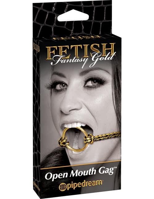 Fetish Fantasy Gold - Åben mund Gag