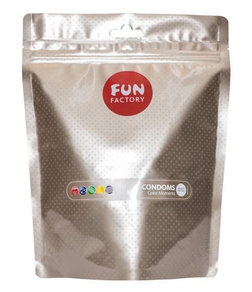 Fun Factory - Kondome Color Moments 50er - 50 stk. med farve og smag