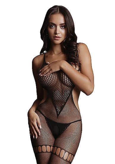 LE DÉSIR Net High Neck Bodystocking