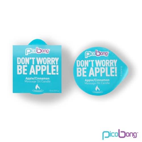 LELO PicoBong - Æble/kanel massageolie lys
