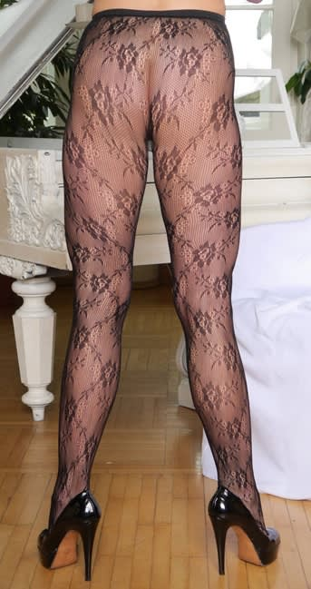 Master of Desire - Meany - Stockings med blomster