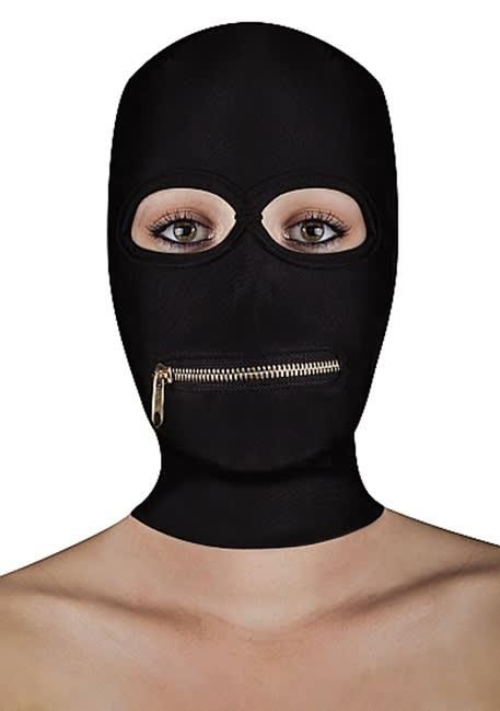 Ouch! - Extreme mask med dragkedja för munnen