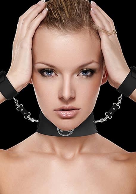 Ouch! - Halsbånd med manchetter