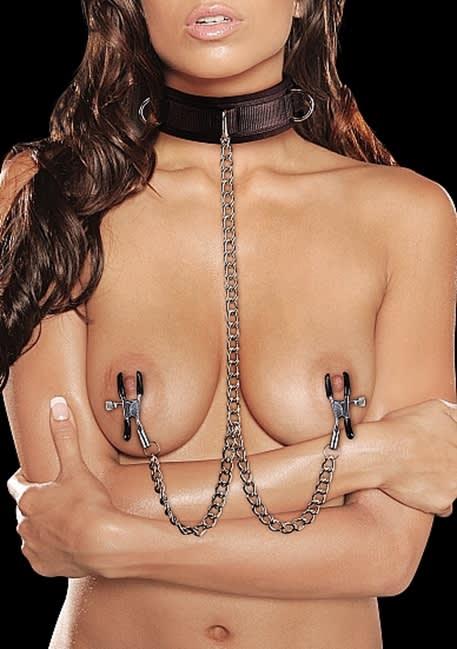 Ouch! - Halsband med kardborrelås