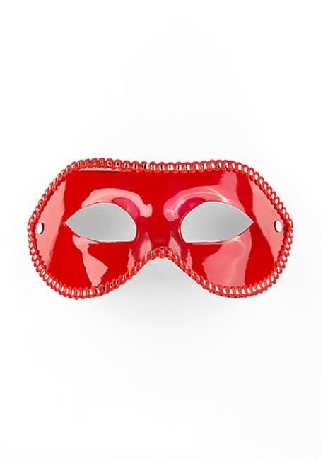 Ouch! - Maske til fest  - Rød