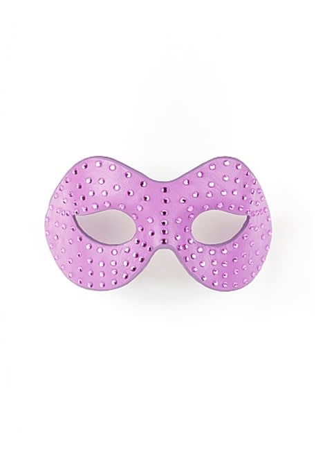Ouch! - Ouch! Diamantbesat maske - Purple