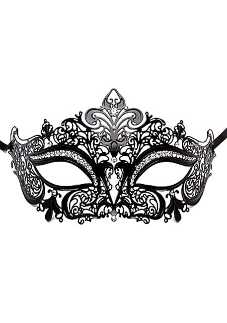 Ouch! - Prinsesse Masquerade maske  - Sort